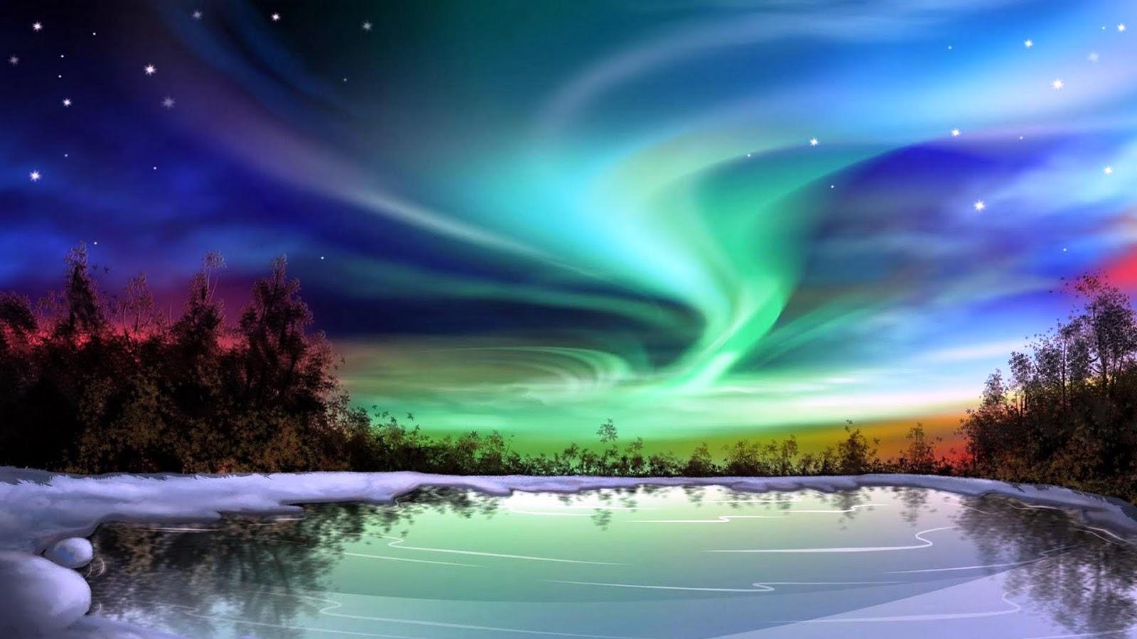 Wo und wann sind die Polarlichter zu sehen?